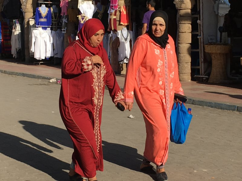 Local women, Essaouira