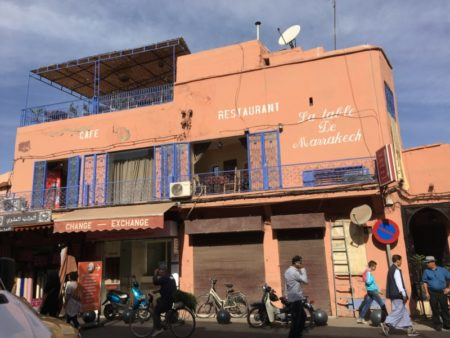 Marrakech Medina restaurant