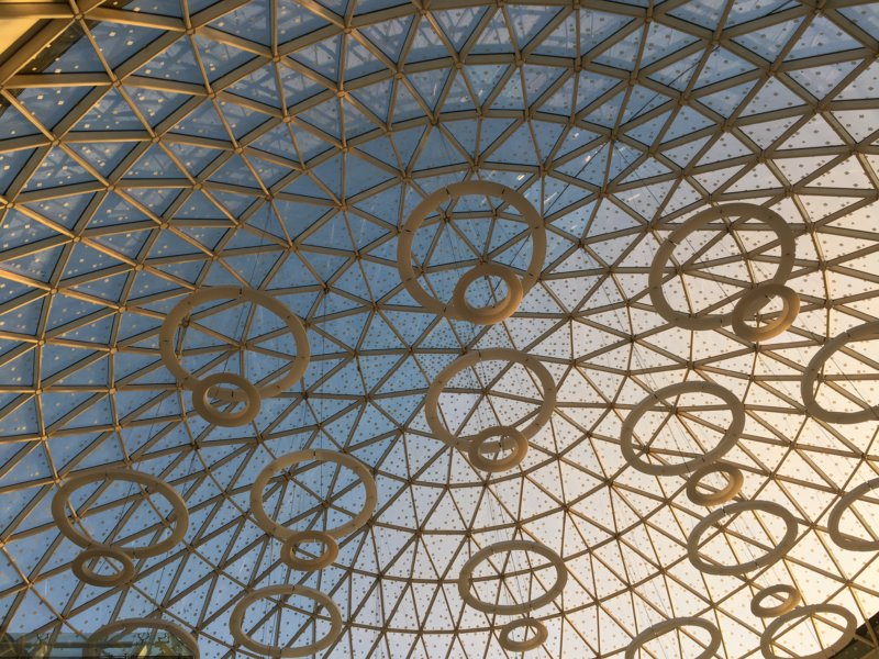 Marrakech Menara Airport dome