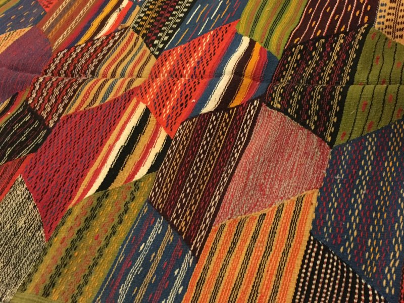 Marrakech souk: carpet