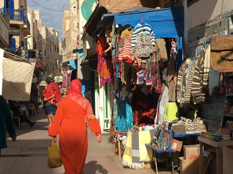 Moroccan handicraft, Essaouira