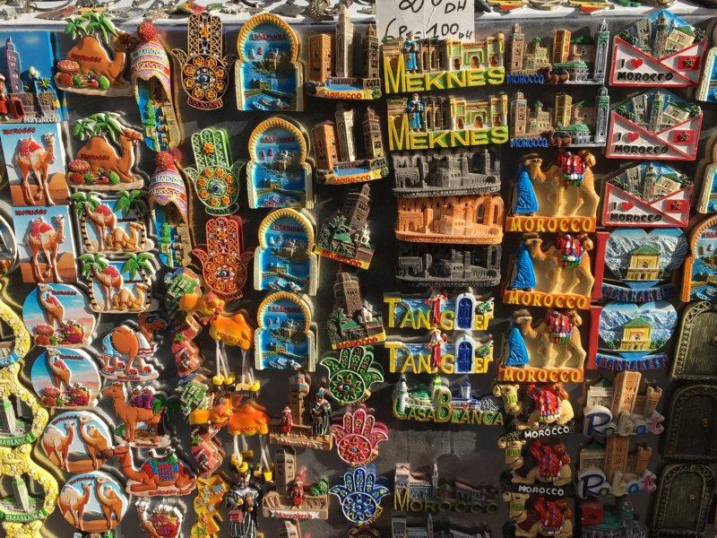 Moroccan souvenirs, Essaouira
