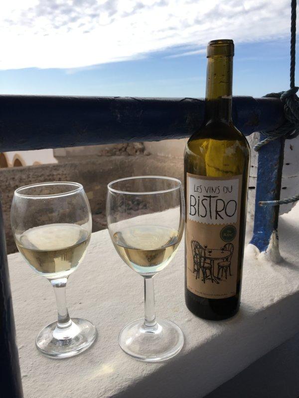 Moroccan white wine, Essaouira