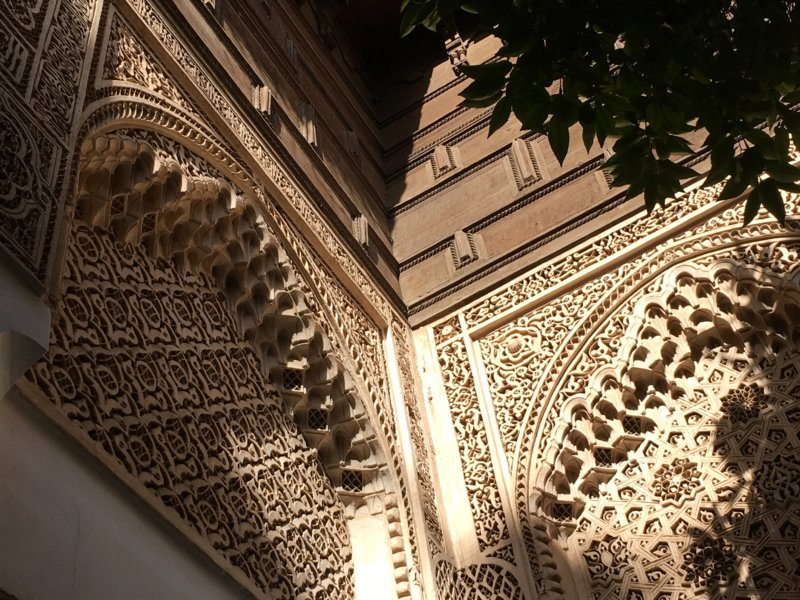 Things to do in Marrakech, Palais Bahia decorations