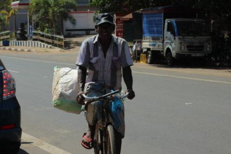 Biking man, Kalpitiya