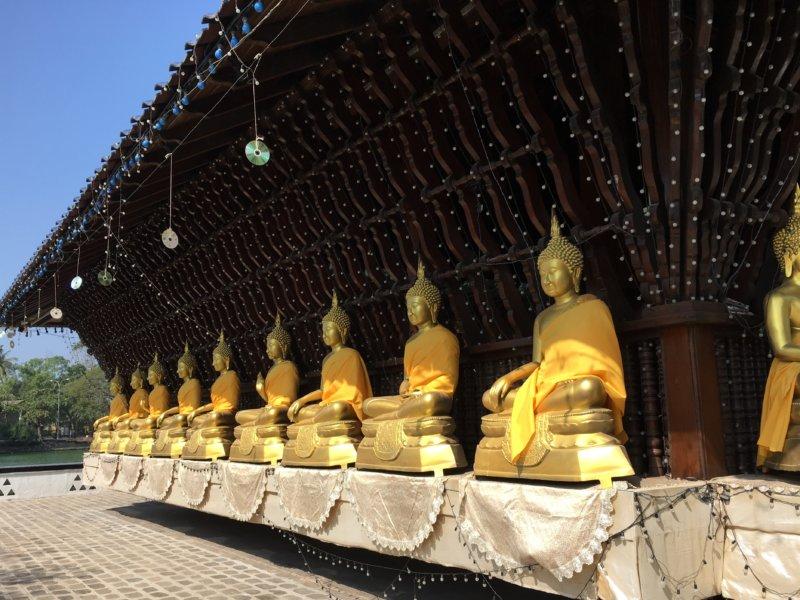 Colombo Buddha statue row