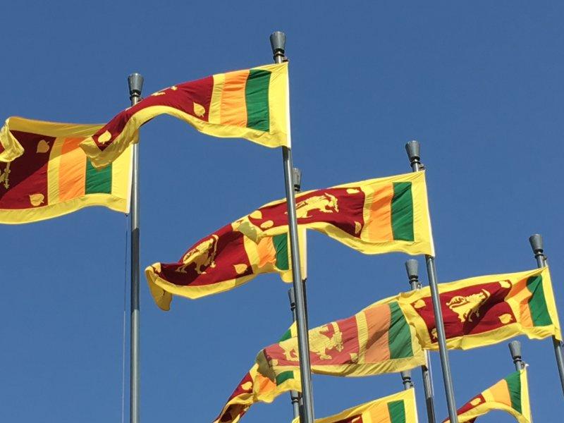 Sri Lanka flags
