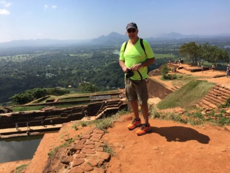 After reaching the top of Sigiriya Rock