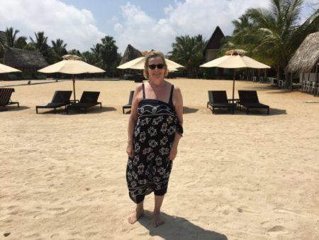 On Maalu Maalu Resort beach
