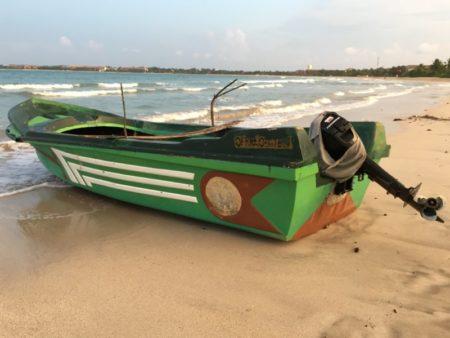 Passekudah Bay fishing boat
