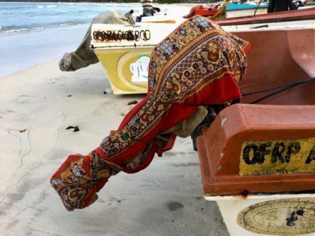 Passekudah Bay fishing boat motor