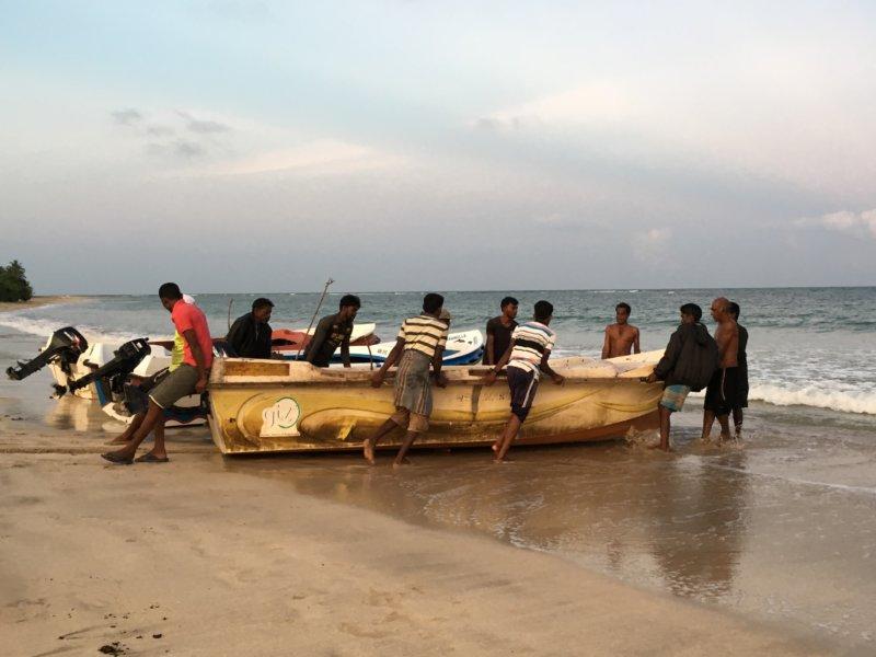 Passekudah fishermen