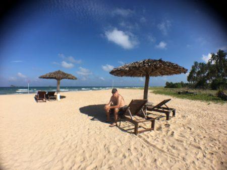 Pigeon Island Resort beach