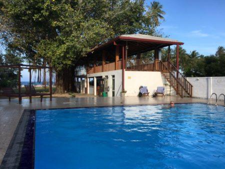 Pigeon Island Resort pool Nilaveli