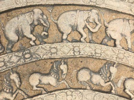 Polonnaruwa moon stone
