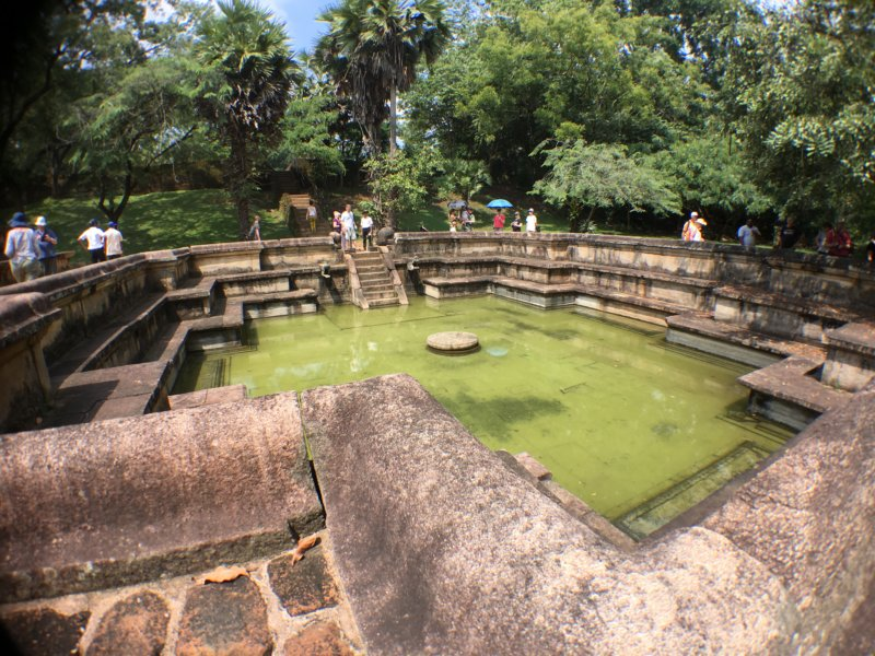 Polonnaruwa Royal Baths