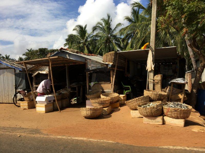 Roadside huts