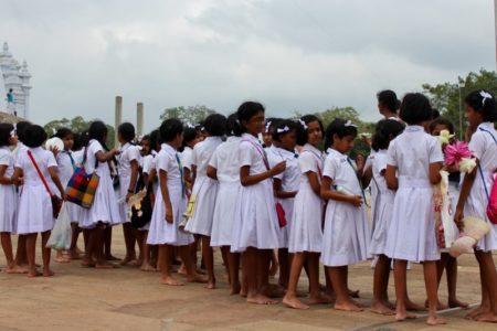 School trip to Anuradhapura