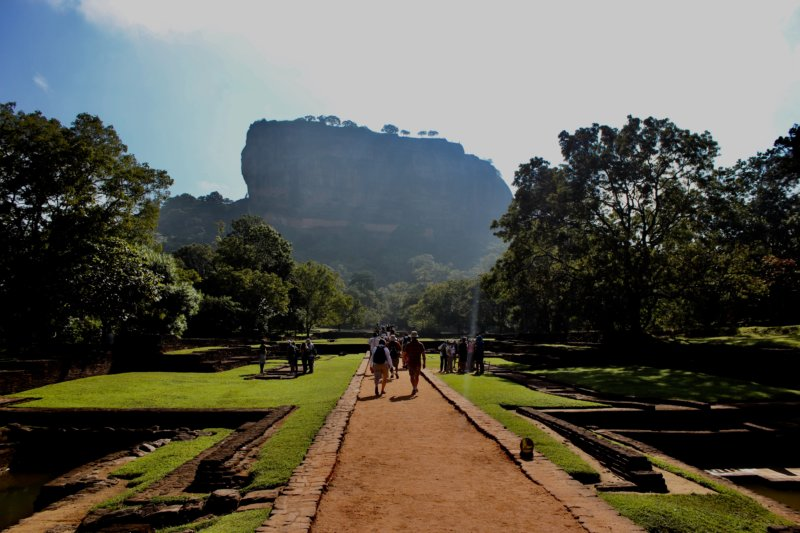 Sigiriya Rock and water gardens, the Cultural Triangle