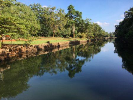 Sigiriya water canal