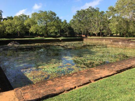 Sigiriya water gardens