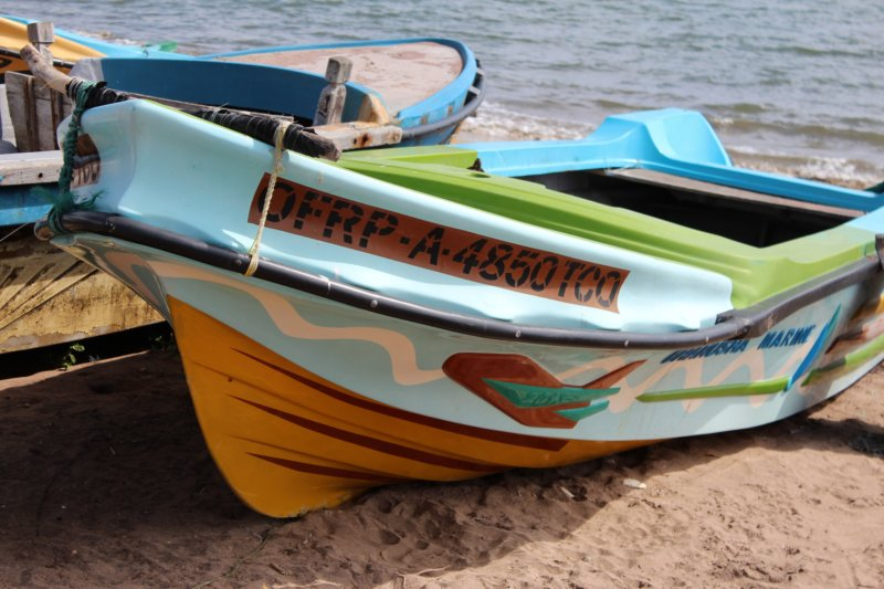 Sri Lanka East Coast fishing boats