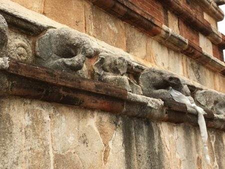 Stone elephants, Jetavanarama Dagoba
