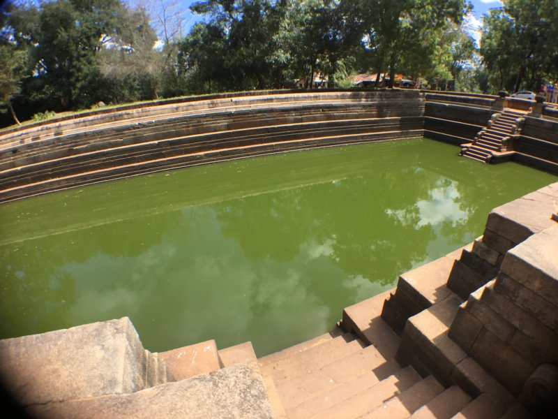 The Twin Ponds of Anuradhapura