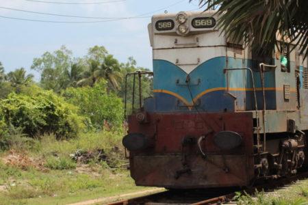 Train to Sri Lanka's East Coast