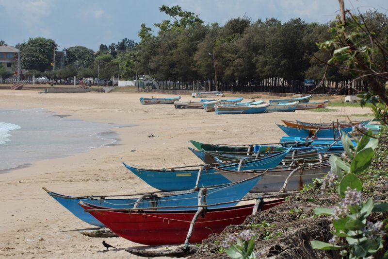 Trincomalee beach Sri Lanka's East Coast