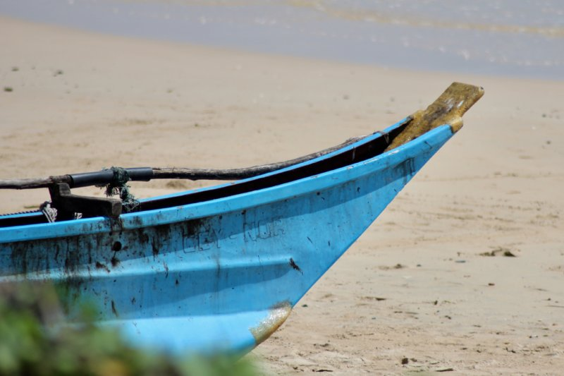 Trincomalee fishing boat