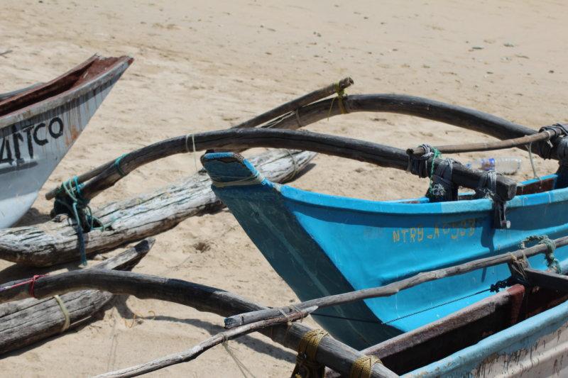Trincomalee fishing boats