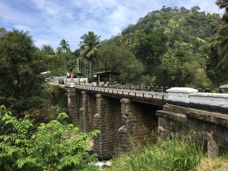 Bridge, Kandy to Nuwara Eliya