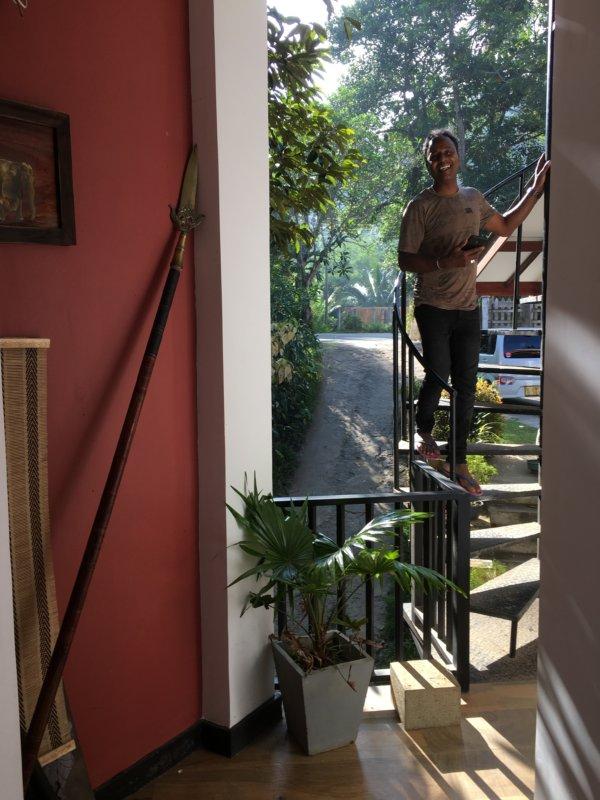 Chaminrich homestay host Anusha