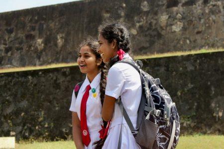 Galle school girls Sri Lanka