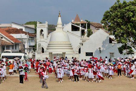 Galle school group Sri Lanka