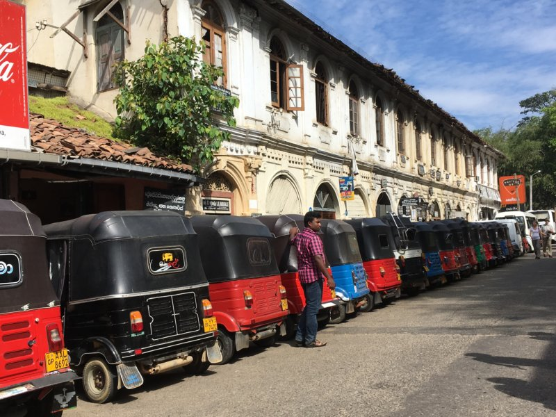 Kandy three-wheelers