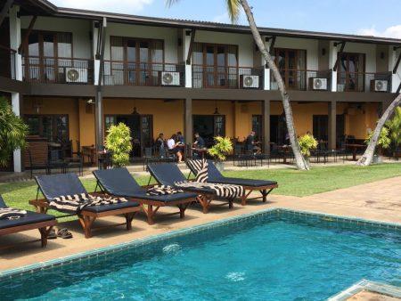 Kithala Resort pool chairs