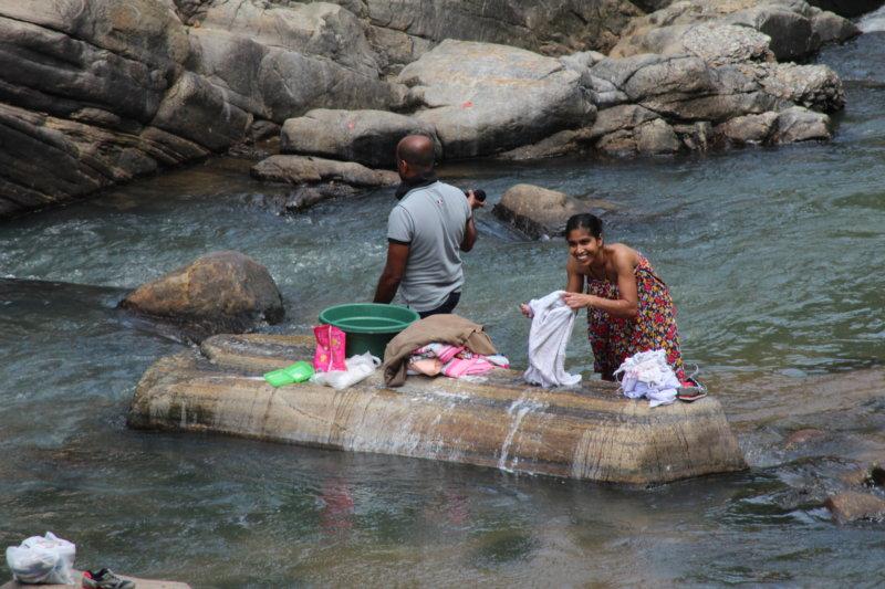 Laundry day, Sri Lanka tea country