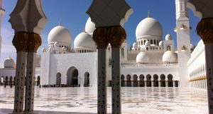 Sheikh Zayed Mosque, from Dubai to Abu Dhabi