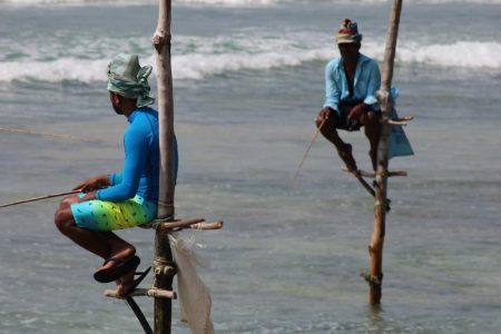 Sri Lanka's South Coast stilt fishermen