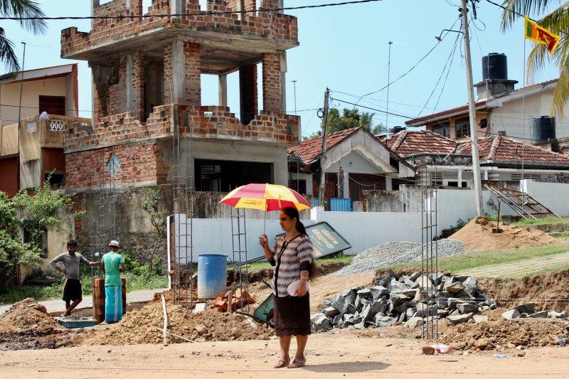 Sri Lanka's South Coast rebuilding