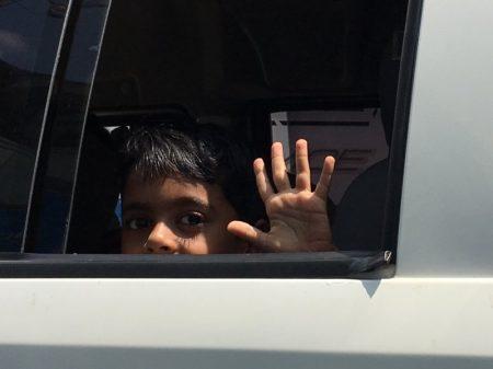 Sri Lankan boy