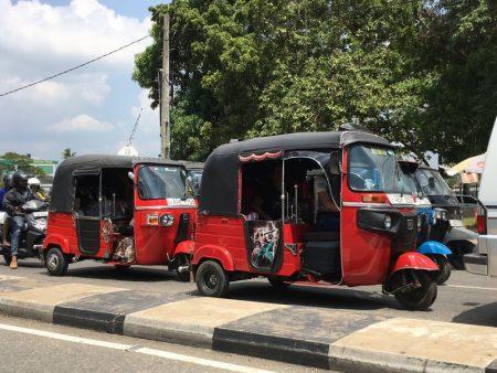 Sri Lankan three wheelers