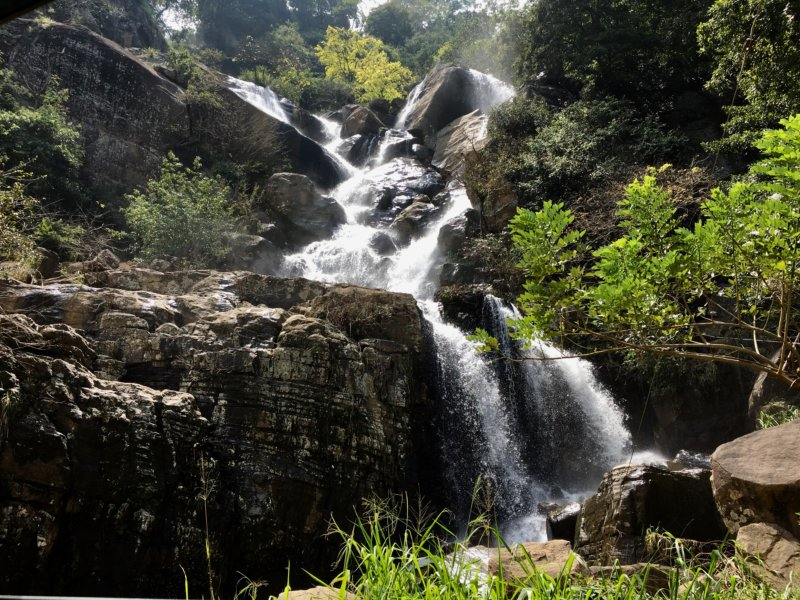 Waterfall, Kandy to Nuwara Eliya