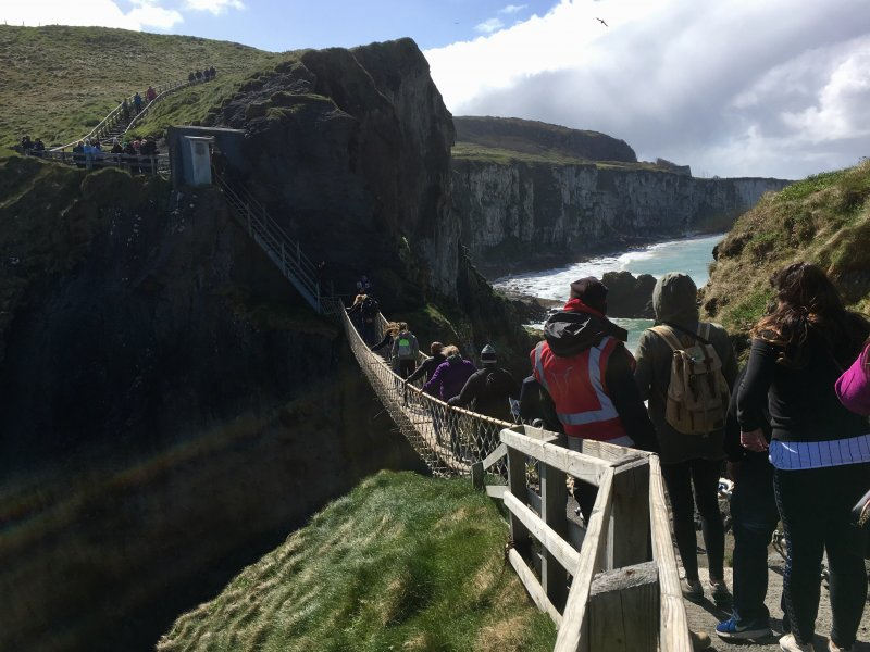 Carrick-a-Rede, Giant's Causeway day trip