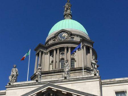 Custom House dome, Dublin