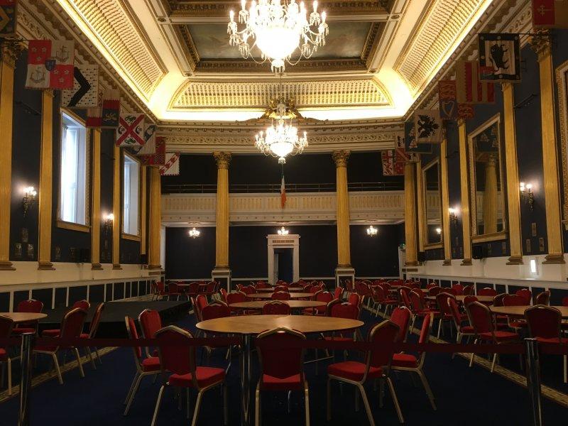 Dublin Castle St. Patrick's Hall