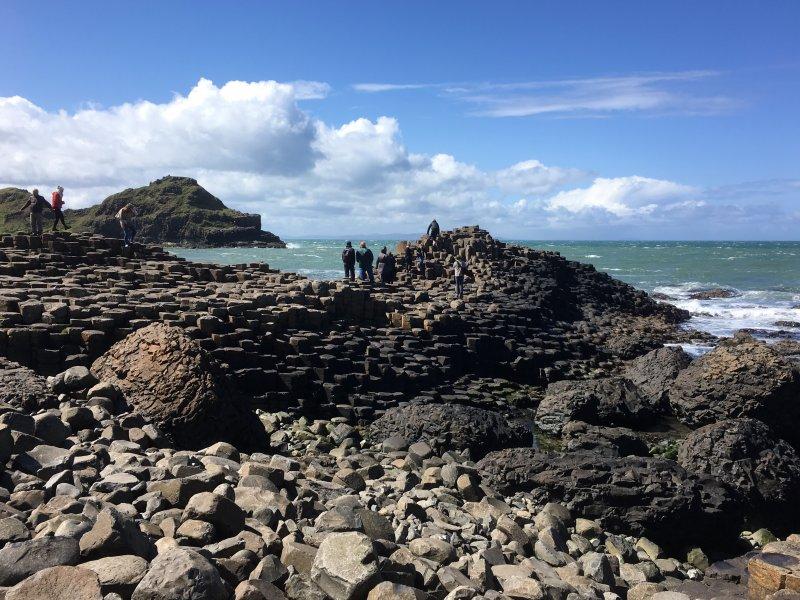 Giant's Causeway day trip, stone columns