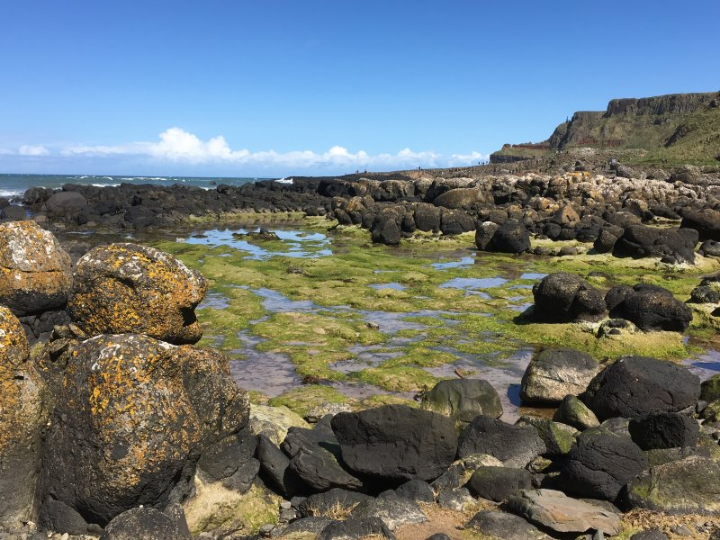 Giants Causeway view from the walk